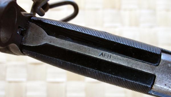 American Fork & Hoe cut-down spear-point bayonet