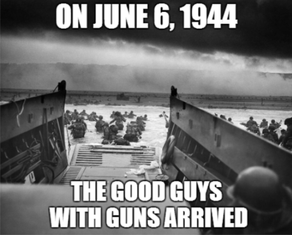 D-Day Good Guys