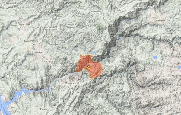 Mokelumne Fire